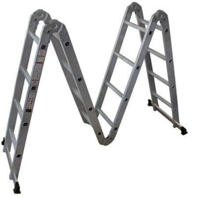 Мултифункционална алумиева стълба 4x4