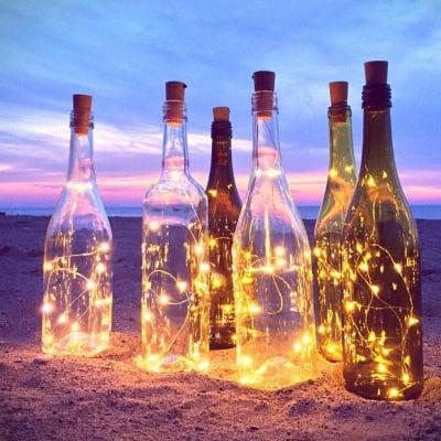 LED бутилка за декорация