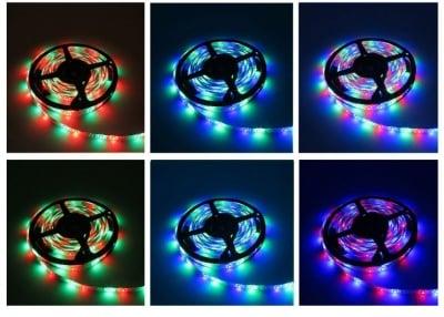 LED диодна цветна лента