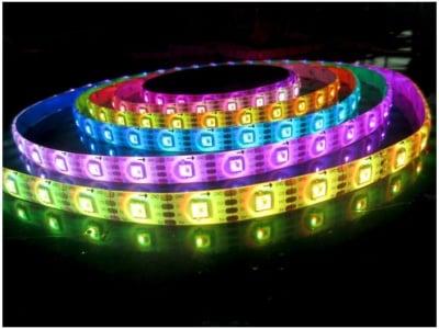 Цветна LED Светодиодна лента