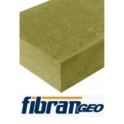 Фасадна каменна вата BP ETICSplus 600х1000х80мм. FibranGeo