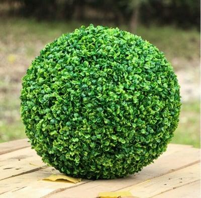 Изкуствена топка-чемшир Ф28 см.