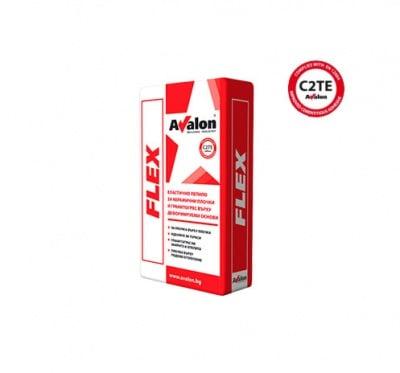 Еластично лепило за плочки Flex C2TE Avalon