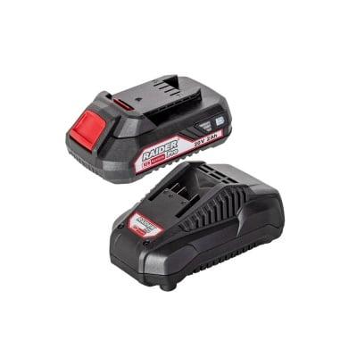 Комплект батерия и зарядно устройство RAIDER RDP-R20