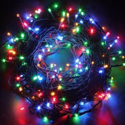LED Лампички тип гирлянд 120 бр. за външна употреба Разноцветни - Enigma lights