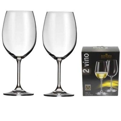 Комплект 2 чаши за бяло вино Bohemia