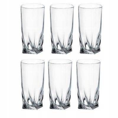 Комплект чаши за вода Quadro Bohemia