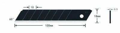 Остриета за макетен нож  SK2 H/FD-B50 10