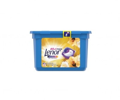 Капсули за пране All in 1 Color Detergent Gold orchid Lenor