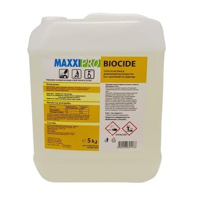 Дезинфектант за хранително-вкусовата промишленост MAXXI PRO BIOCIDE - без хлор