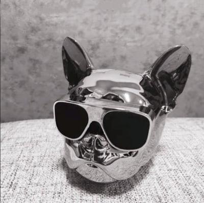 Безжична преносима Bluetooth колонка French bulldog Sylver