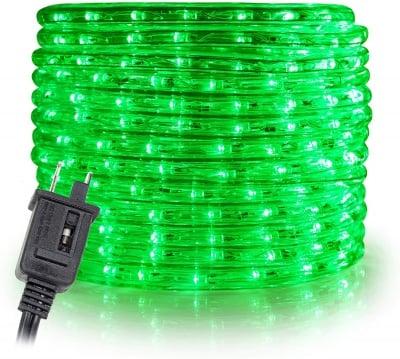 LED маркуч за външна употреба 10 м. - зелен