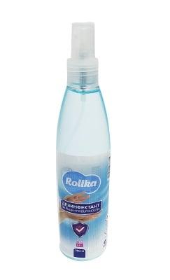 Антибактериален дезинфектант спрей за ръце и повърхности Rollka 250 ml