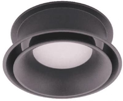 Луна за външен монтаж DONNA X1 GU10 IP44 Black-White