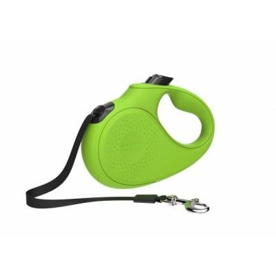 Автоматичен повод за кучета TECH XCHO 5 м до 15 кг - зелен