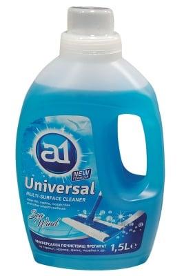 Универсален почистващ препарат за под  A 1 -  1.5 л - син