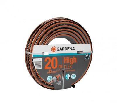 "Армиран нагнетателен маркуч за поливане  -  1/2"" 20 м Comfort High FLEX Gardena"