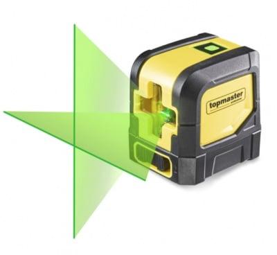 Лазерен нивелир 1H1V 15м /зелен лъч/ Topmaster
