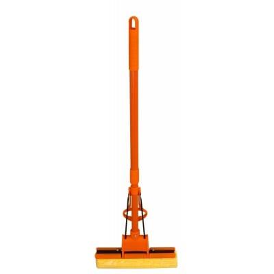 Моп оранжев с единична ролка KWL - 10207АО