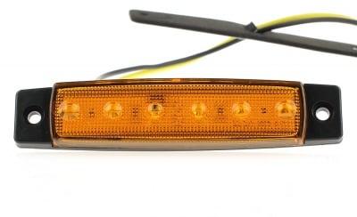 Габарит 6 диода 24 V жълт - YP 104