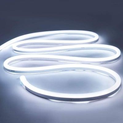 LED лента за външна  и вътрешна употреба 5 м - студено бяла светлина Lightex