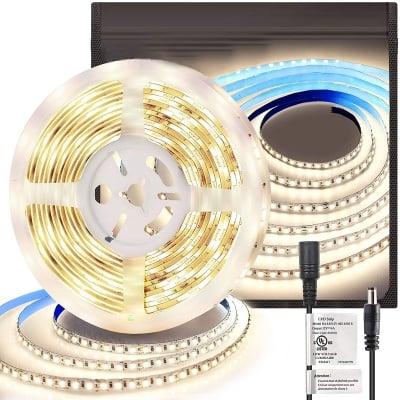 LED лента със захранване неутрална светлина 480 lm - 3 м Lightex