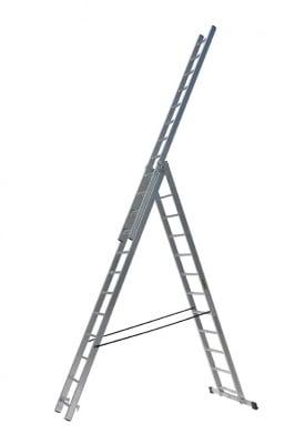 Трираменна професионална стълба 3 х 12 DRABEST