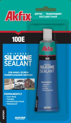 Универсален силикон 100E бял - Akfix