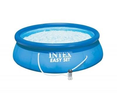 Надуваем басейн с филтър и филтърна помпа  366 х 76 см. Intex