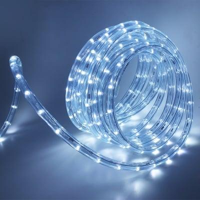 LED маркуч за външна употреба 10 м. - студено бяла светлина
