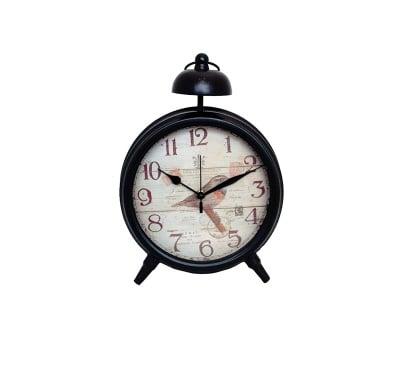Настолен метален часовник
