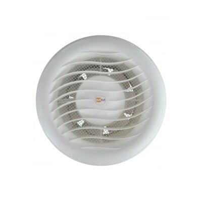 Аспиратор ММВ 100/105 кръгъл с клапа - LIGHT