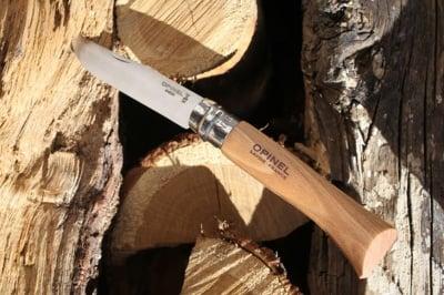 Сгъваем нож № 10 Inox Opinel