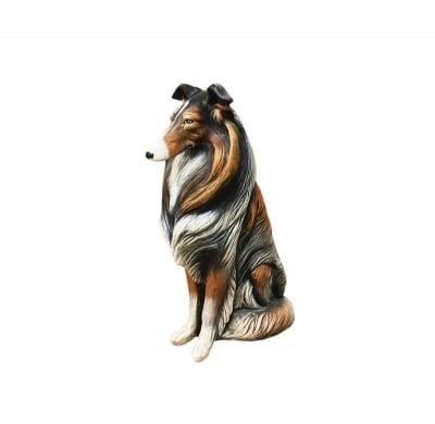 Керамична фигура -куче коли