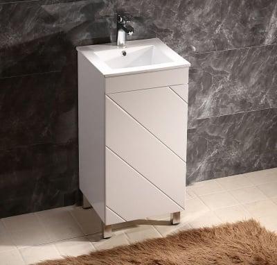 Комплект PVC шкаф с умивалник Inter Ceramic