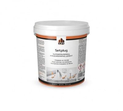 Бързовтвърдяващ и водоизолиращ цимент Setplug DCP