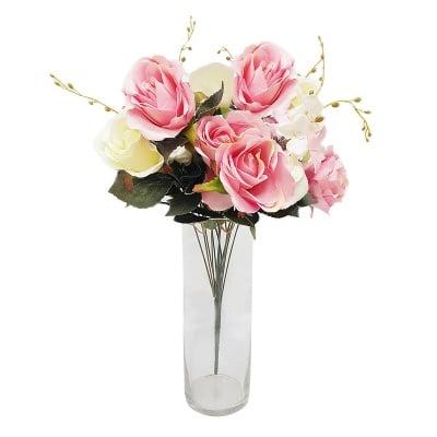 Букет изкуствени цветя - Рози