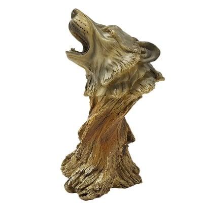 Статуетка - глава на вълк
