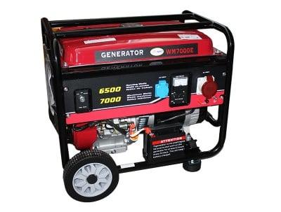 Бензинов генератор WM7000E-монофазен