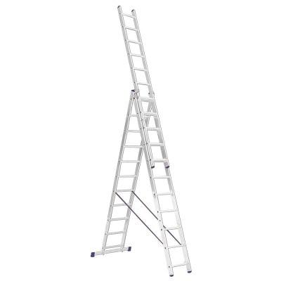 Професионална алуминиева стълба 3x11