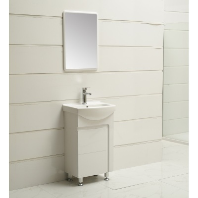 Комплект PVC шкаф и умивалник  Inter Ceramic