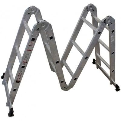Мултифункционална алумиева стълба 4x3