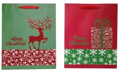Коледна подаръчна торбичка