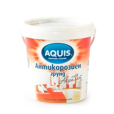 Антикорозионен грунд -сив 0.750л. Aquis