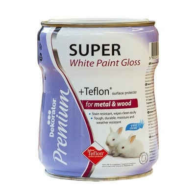 Супер Бяла боя с Teflon® Dekorator Premium
