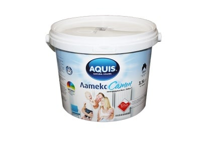 Латекс сатен с Teflon ® Aquis