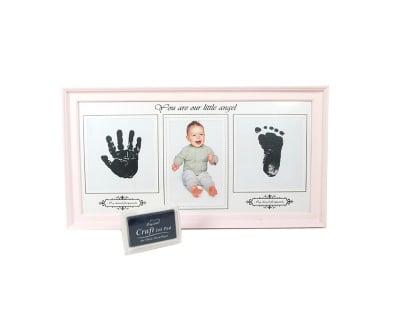 Подарък за бебе -рамка с отпечатък