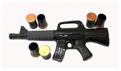 Керамичен сервиз - пушка + чашки