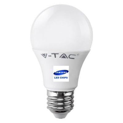 LED Крушка - SAMSUNG ЧИП 9W E27 A58 3000K