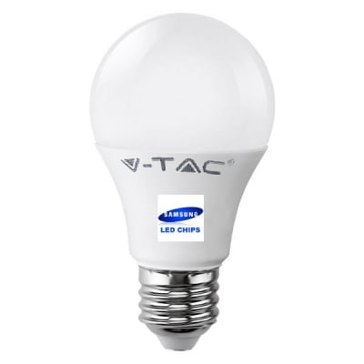 LED КРУШКА - SAMSUNG ЧИП 9W E27 A58 4000K